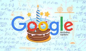 Google Birthday Update